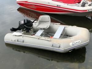 Duras 10' inflatable boat and 9.9 Four Stroke Mercury