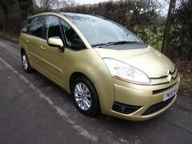 Citroen Grand C4 Picasso 7 2.0HDi 16v EGS VTR+ 2008 58 PRESTON