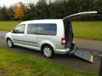 2010 Volkswagen Caddy Maxi 1.9 Tdi 7 SEATS 37K Wheelchair Accessible Vehicle WAV