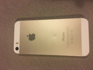 IPHONE 5S 16GB white&gold color used. For $80