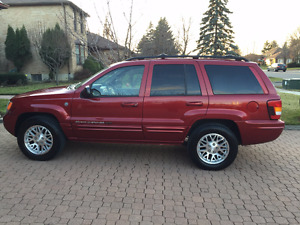 2004 Jeep Grand Cherokee Limited no accidents, loaded, clean
