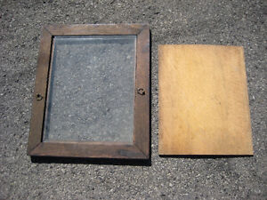 Antique Walnut picture frame - carved wooden back Cornwall Ontario image 4
