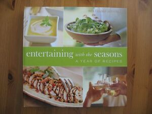 """Entertaining with the Seasons - A Year of Recipes"" (Hardcover) London Ontario image 1"