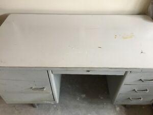 For Sale: Large Metal Desk for Garage or Workshop