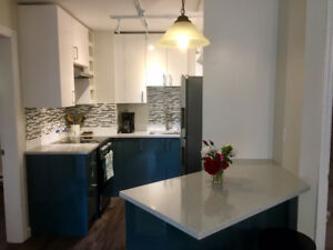 Stylish, Renovated, Fully/Partially Furnished, easy bus to UVic