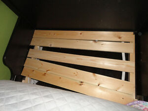 IKEA 2 and 1 Nursery Set: Crib - Daybed to Double Bed w/Mattress London Ontario image 4