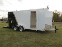 Forest River 2 place Enclosed Sled Trailer @SCH Trailers