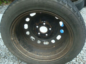 Mazda 3 snow tires and rims