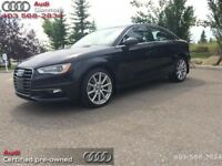 2015 Audi A3 2.0T quattro Progressiv   - Certified - Low Mileage