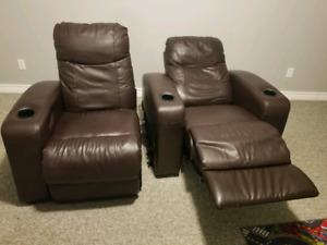 fauteuils  de cinemas maison inclinable