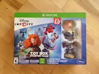 Disney Infinity Toy Box 2.0 Starter pack Xbox one + Thor