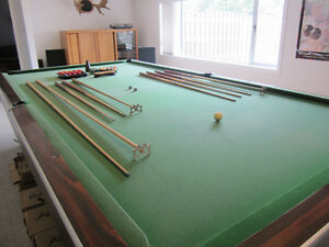 Snooker table, 6'x12' for sale