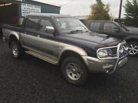 Mitsubishi L 200 animal 2.5 td 04 Reg only 68,000 miles