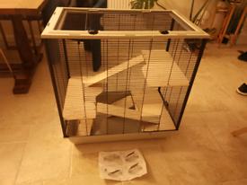 Pet cage - unused - 80cm H x 77cm W x 47cm D