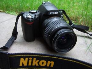 NIKON D40 DSLR. Excellent Condition.