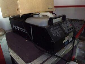High end systems f100 fog machine