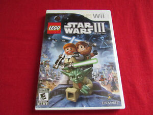 LEGO Star Wars III The Clone Wars (Wii)