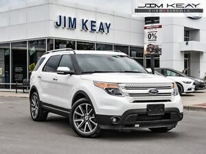 2015 Ford Explorer Limited  - Leather Seats -  Bluetooth - $114.