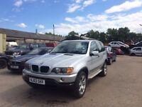 2003 BMW X5 GREY LOW MILES £3195