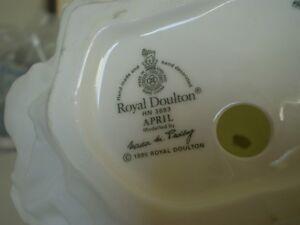 "Royal Doulton Figurine - "" April "" HN 3693 Kitchener / Waterloo Kitchener Area image 10"