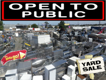 CATERING EQUIPMENT - RESTAURANT EQUIPMENT - YARD CLEARANCE SALE Campbellfield Hume Area Preview