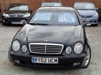 2002 MERCEDES BENZ CLK 2