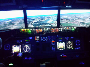 Flight Simulator Boeing 737 Everyone can Fly..BEST OFFER TAKES Edmonton Edmonton Area image 4