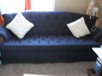 Antique Couch and sofa free Tee table come with