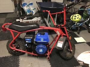 minibike 6.5hp 450$ OBO