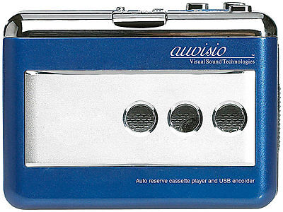 Walkman Kassettenplayer Kassettenspieler Cassettenspieler konvertieren USB PC