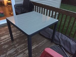 Table patio - 4 chaise