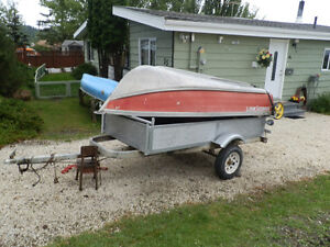 10 Harbour Craft boat with 7.5 HSP Merc and trailer