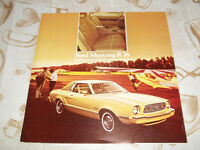 BROCHURE AUTO FORD MUSTANG 2 ( 1976 )