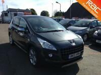 2013 Peugeot 3008 Crossover 1.6HDi 115 DPF EU5 Allure 6Spd Diesel blue Manual