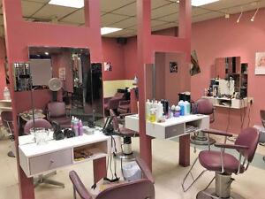 Salon de coiffure existant depuis 35 ans dans Ville Émard
