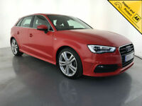 2015 65 AUDI A3 S LINE TFSI 5 DOOR HATCHBACK 1 OWNER SERVICE HISTORY FINANCE PX