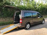 2011 Volkswagen Caddy Maxi Life 1.6 TDI 5dr AUTOMATIC WHEELCHAIR ACCESSIBLE V...