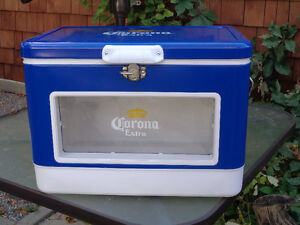 NEW Corona Extra Beer Cooler with lights and window