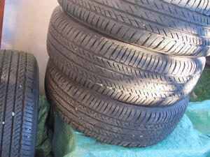 Set of Four, 175/65 R 15, M & S, Bridgestone Tires,Lots of tread Prince George British Columbia image 7