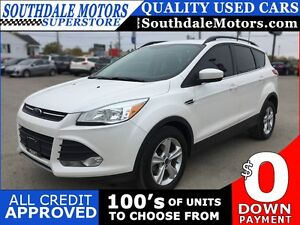 2014 FORD ESCAPE SE * LEATHER * SUNROOF * REAR CAM * NAV * BLUET