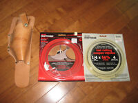 BRAND NEW BAND SAW BLADES & DRILL HOLSTER