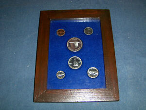 FRAMED SET OF CANADIAN CONFEDERATION COINS-COLLECTIBLE!