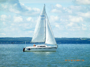 HUNTER SAILBOAT FOR SALE ON PIGEON LAKE