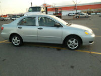 2006 Toyota Corolla CE- Excellent car,clean carproof, rust free