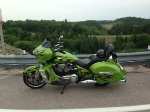 2013 victory cross country motorcycle for sale
