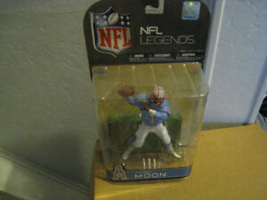 NFL Mcfarlane Warren Moon Variant Toy Action Figure Man Cave NHL