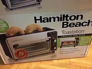 Brand new in box and packaging Toaster Oven Toastation!