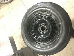 4 Winter tire and rims to fit 2014 Ford Edge