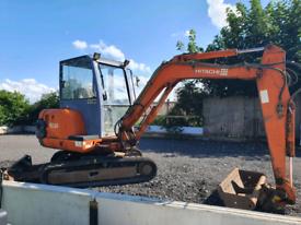Hitachi ex30 digger track machine 3 ton no vat