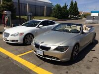 BMW 645ci convertible 6 speed